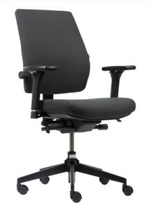 Toulouse Workpro Office Chair Synchro Tilt Dark Grey Part Built Graded 95 Ebay