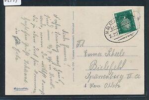 02144) Bahnpost Ovalstempel M 'gladbach-soe (st) Z.2273, Ak 1929-afficher Le Titre D'origine