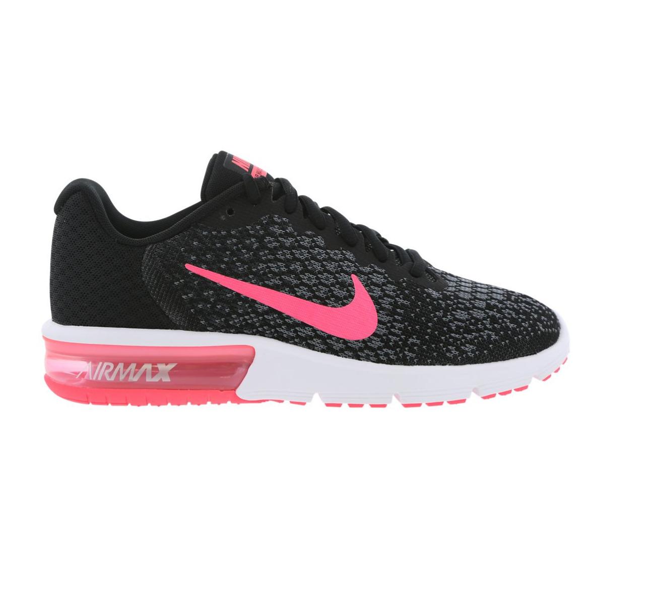 Mujeres Nike Air Max 006 Sequent 2 Negro Zapatillas 852465 006 Max 828cba