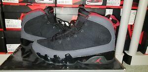 reputable site 10edf 37cd6 Image is loading 2010-Nike-Air-Jordan-IX-9-Retro-Black-
