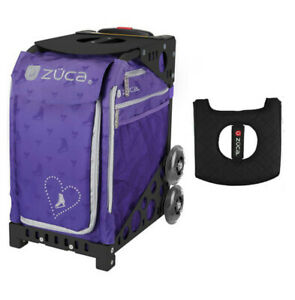 Confetti with Gift Lunchbox and Seat Cover Black Frame Zuca Sport Bag