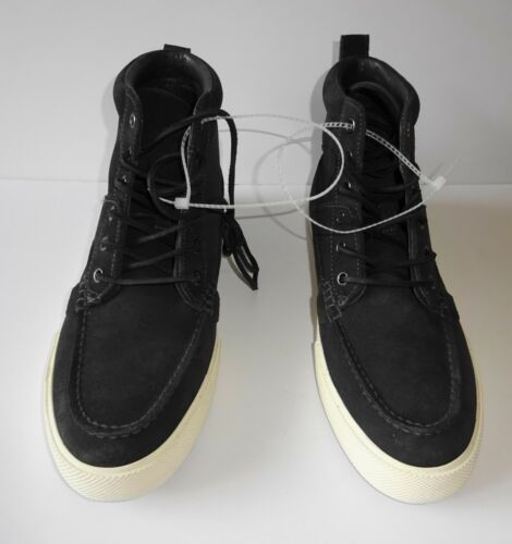 Boots Mens nera D Sneaker 5 in 9 Dimensioni Lauren pelle scamosciata Polo M Tavis New Ralph xtqUvYw6S