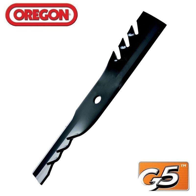 Oregon Gator Blades G5 (3 paquetes) Para John Deere 48  AM104489 M73509 596-308 (3)
