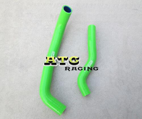 Silicone Radiator Hose for SUZUKI LTZ400 DVX400 KFX400 2003-2008 04 05 06 Green