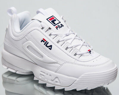 Fila Disruptor Low Top Men's New Lifestyle Shoes White 2018 Sneakers  1010262-1FG | eBay