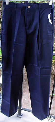 Talbots Boys/' Kids/' Khaki Navy Chino Cotton Long Pants Adjustable Waist 7 or 16
