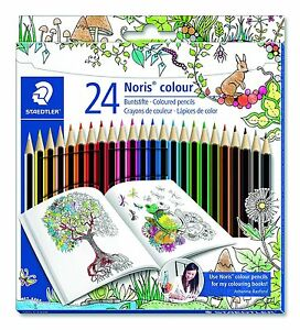 Image Is Loading Staedtler Noris Colour Pencils Johanna Basford Edition Adult