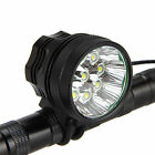 9x CREE XM-T6 LED 15000LM Ciclismo Cabeza Frontal Para Bicicleta Lámpara Faro
