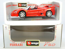 Bburago Burago 3352 ferrari f50 1995 convertible 1/18 MIB nuevo embalaje original nos St 1407-01-43