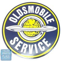 """12"""" Oldsmobile Service Decal - Each"""