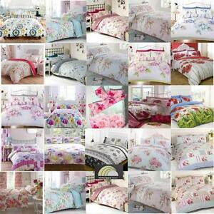 Image Is Loading Floral Bed Linen In Single Double Amp Kingsize