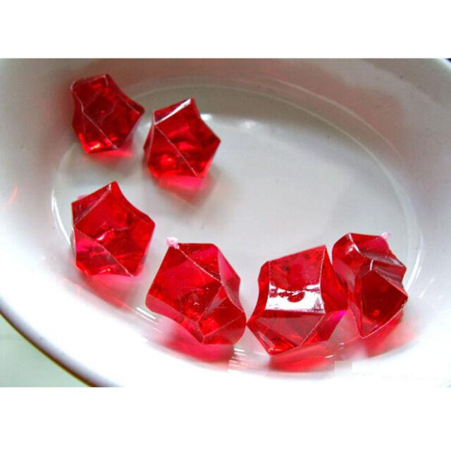 500pcs Mini Acrylic Crystal Gem Stone Ice Rocks For Party Vase