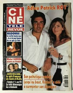 CINE-REVUE-8-1993-PATRICK-ROY-MADONNA-GOSSELAAR-MICHEL-SARDOU