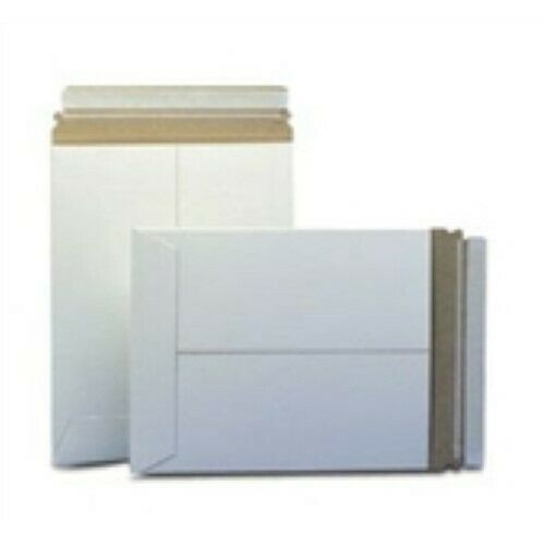 """200-6x6/""""  #9PSW White Self-Seal Stayflats® Plus Mailer"""