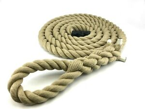 Fitness Rope Choose Length 32mm Synthetic Gym Climbing Rope Exercise Rope