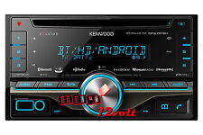 Kenwood eXcelon DPX791BH 2-Din CD Receiver with Built-in Bluetooth and HD Radio