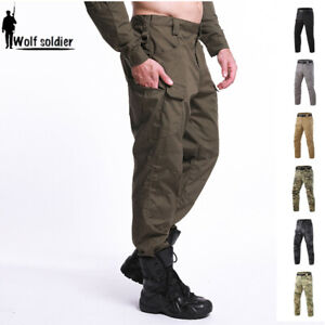 Mens-Outdoor-Military-Cargo-Pants-Tactical-Combat-Casual-Trousers-Camouflage