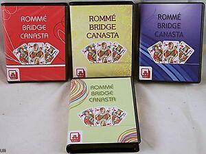 Nr320-Romme-Bridge-Canasta-Folienetui-Gold-Card-Siegel-Nuernberger-Spielk-Verlag