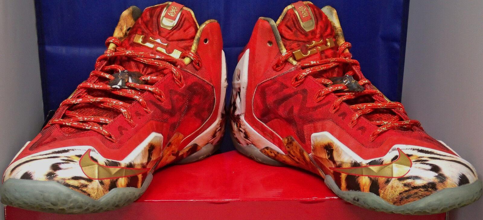 2018 Nike Lebron XI 11 11 11 Premium 2K4 SZ US 7 fa5a40