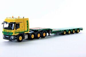 WSI-01-1017-HKV-Mercedes-Actros-8x4-Carbine-Tractor-amp-OSDS-Trailer-1-50-MIB