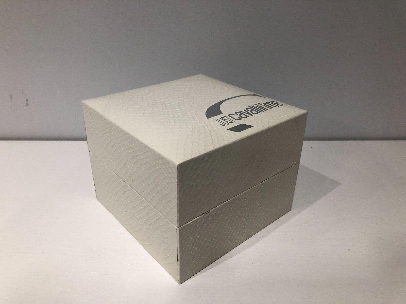 New New New JUST CAVALLI Time Case Box Astuccio+Garanzia For 1 Watch orologio Montre dc1738