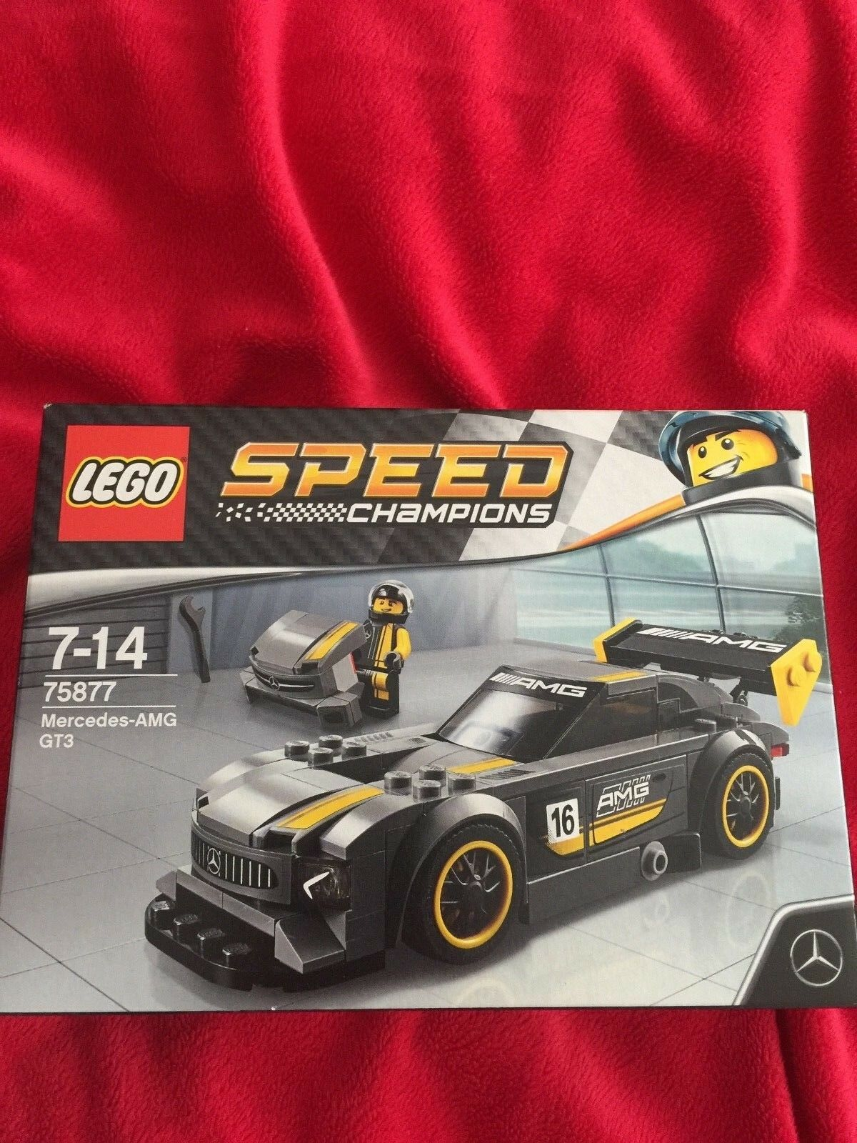Lego  Mercedes-Benz AMG GT 3 accessories 75877 Brand New Retired