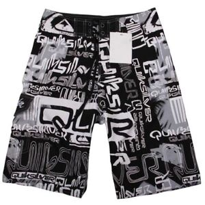 QUICK-DRY-Mens-Fashion-Board-Surf-Shorts-Boardshorts-Swim-Beach-Pants-Size-30-38