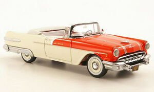 Neo-Scale-Model-1-43-44061-Pontiac-Star-Chief-Convertible-Red-White-NEW