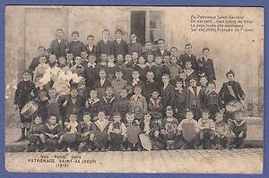 A178-Carte-postale-NOS-PETITS-GARS-PATRONAGE-SAINT-SAUVEUR-1913-La-Rochelle-l
