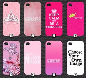 Princess Phone Case Cover Cute Hot Pink Princess Tumblr Crown