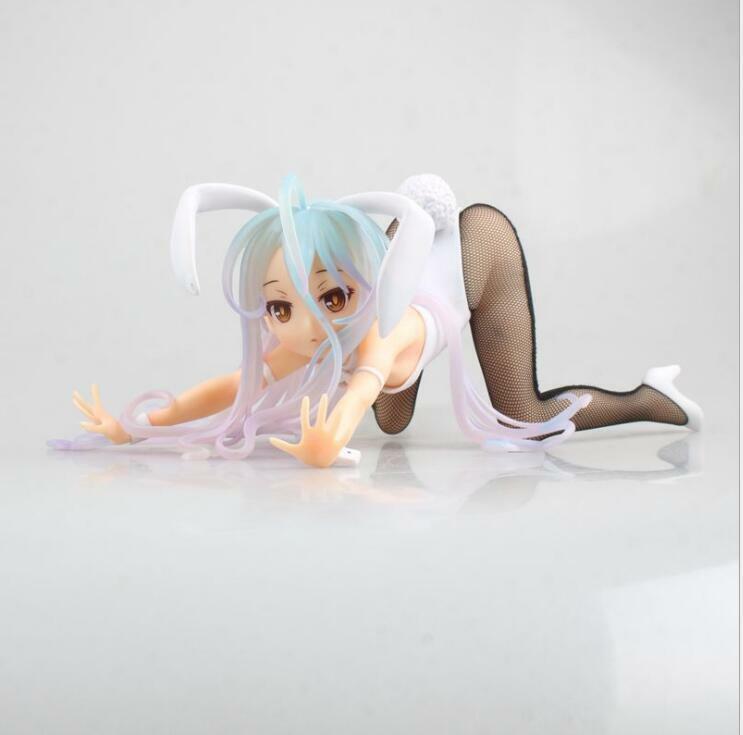 NIME NO spel liv Bunny Girl Shiro PVC Figur modellllerler leksak modellllerler New in låda