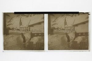 A-Sci-Foto-Placca-Stereo-6x13cm-Vintage