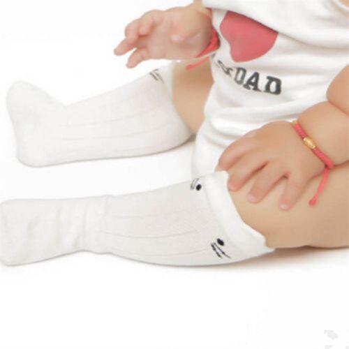 Kids Cute Knee High Socks Anti-Slip Long Leg Warmer Unisex Baby Stockings Hot