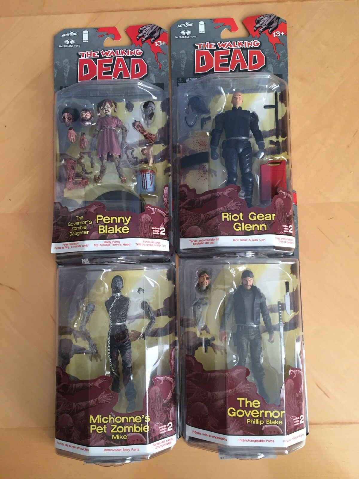 Walking Dead Comic Series 2 Complete Michonne's Pet Zombie Action Figure