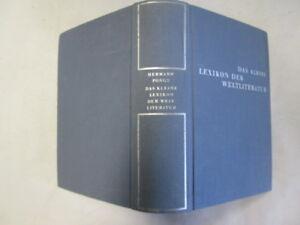 Good-Das-kleine-Lexikon-der-Weltliteratur-Pongs-Hermann-1958-01-01-No-dust