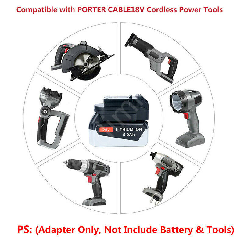 PORTER-CABLE Adapter 20V