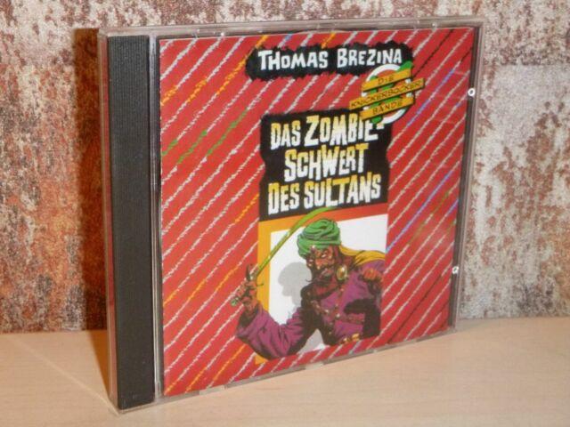 DIE KNICKERBOCKER BANDE 8 Zombieschwert des Sultans - CD HÖRSPIEL Junior Brezina