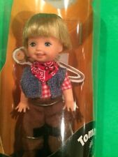 Tommy Kelly Barbie Doll COWBOY Western Boots Bandana HTF Halloween Party NRFB