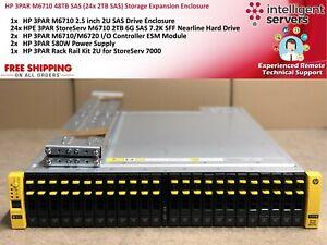 HP-3PAR-M6710-48TB-SAS-24x-2TB-gabinete-de-expansion-de-almacenamiento-SAS