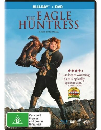 1 of 1 - The Eagle Huntress (Blu-ray, 2017, 2-Disc Set)