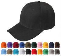 Womens Men Sport Baseball Visor Hat Cap Plain Blank Durable Golf Ball Hat Cosy