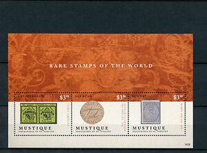 Details about Mustique Grenadines St Vincent 2014 MNH Rare Stamps World 3v  M/S Geneva Double