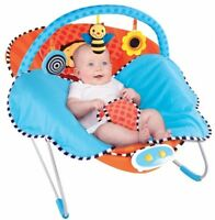 Baby Gear Bouncers Cuddle Blanket Portable Vibration Songs Seat Soothing Sleep