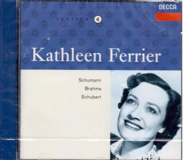 Kathleen Ferrier Edition Vol.4 - Schumann, Brahms, Schubert - CD