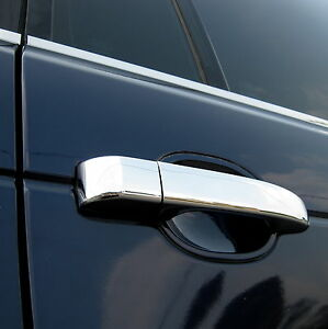 Polished-stainless-steel-DOOR-HANDLE-cover-KIT-for-Range-Rover-L322-chrome-vogue