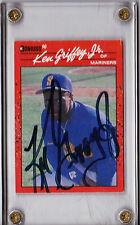KEN GRIFFEY JR. HAND SIGNED AUTOGRAPHED 1990 DONRUSS BASEBALL CARD! RARE W/PROOF