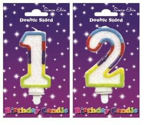 Image Is Loading Happy Birthday Candle Number 1 2 1st 2nd