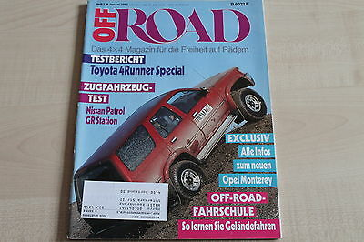 Rational 163854 Off Road 01/1992 Toyota 4runner Special Im Test