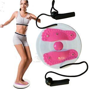NUOVO-Magnetico-Girovita-TWISTER-DISCO-Fitness-massaggio-circolare-con-corde-passo-passo