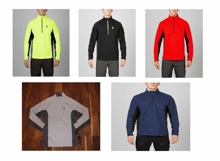 SPYDER  Herren OUTBOUND HALF ZIP MID WT CORE SWEATER SIZE/COLOR VARIATION
